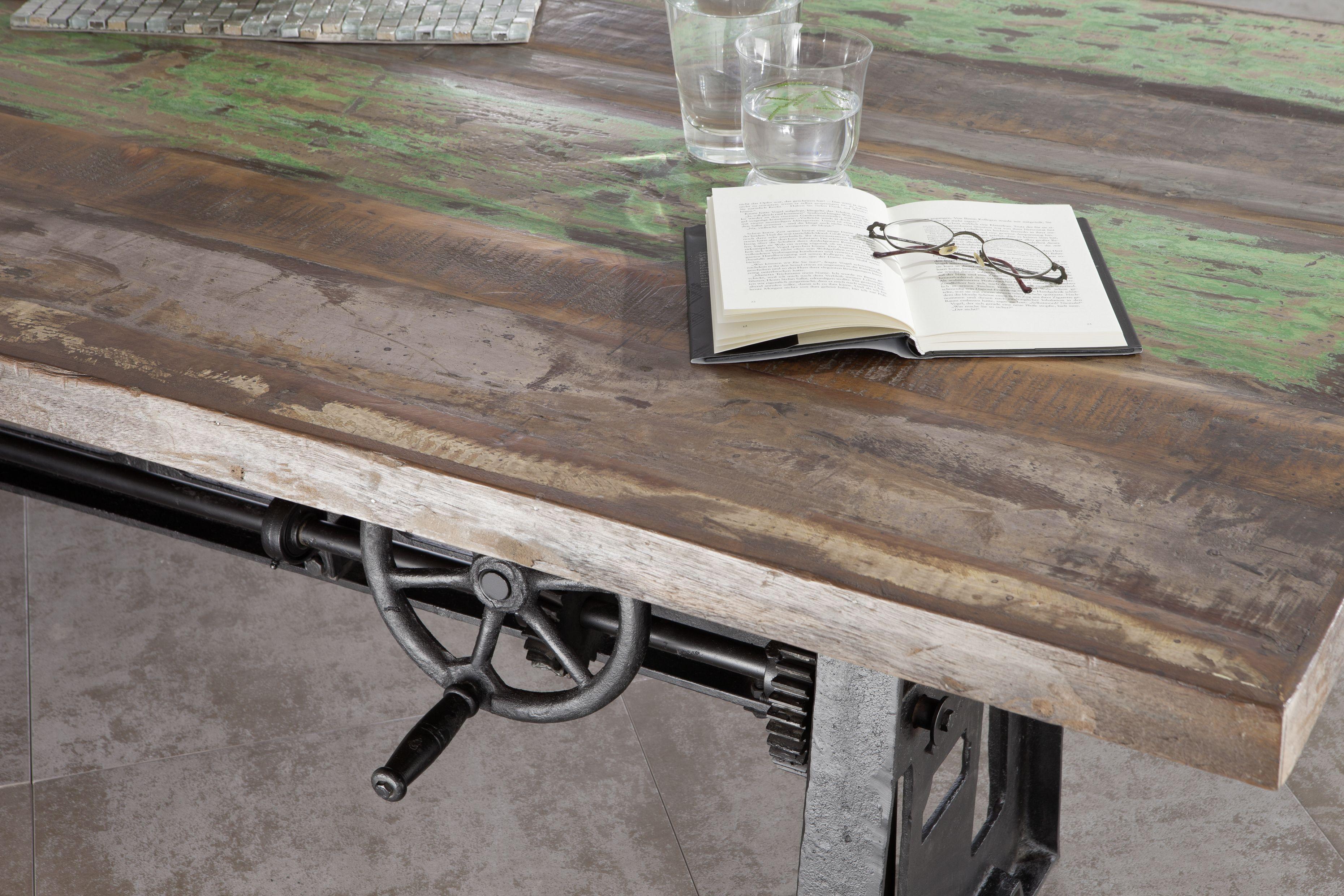 Möbel Altholz lackiert mehrfarbig INDUSTRIAL Massivholz | Möbel ...