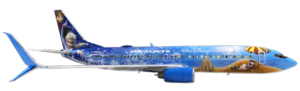 WestJet Reveals New, Custom-Painted Aircraft Inspired by Disney's 'Frozen'