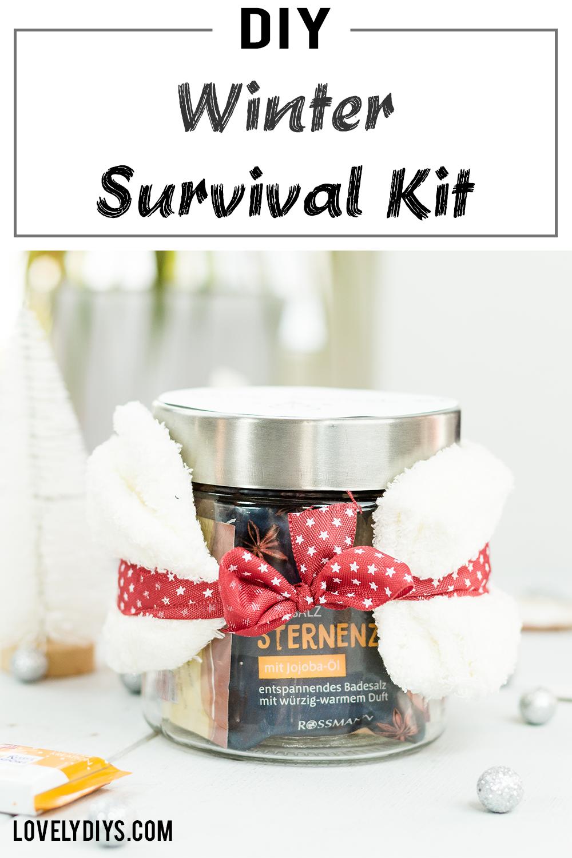 Winter Survival Kit - schnelle und einfache DIY Geschenkidee   DIY ...
