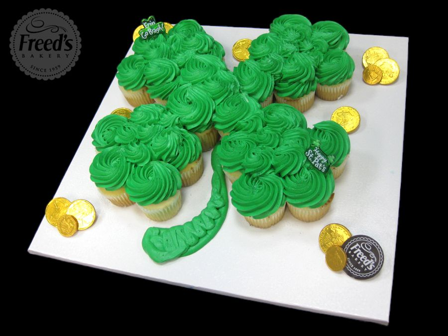 Four Leaf Clovers Dont Have To Be Rare Cupcake Cakes Cupcake