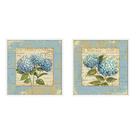 Found It At Wayfair French Country Canvas Wall Art Set Of 2 Country Framed Art Canvas Wall Art Set Art Set