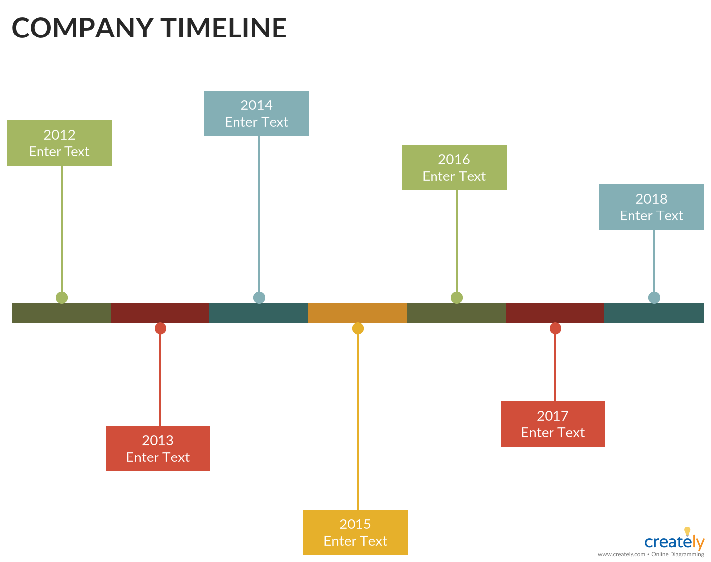 company timeline template is one of the best ways to create your creative company and business history and the timeframe of your company progress or  [ 1440 x 1140 Pixel ]