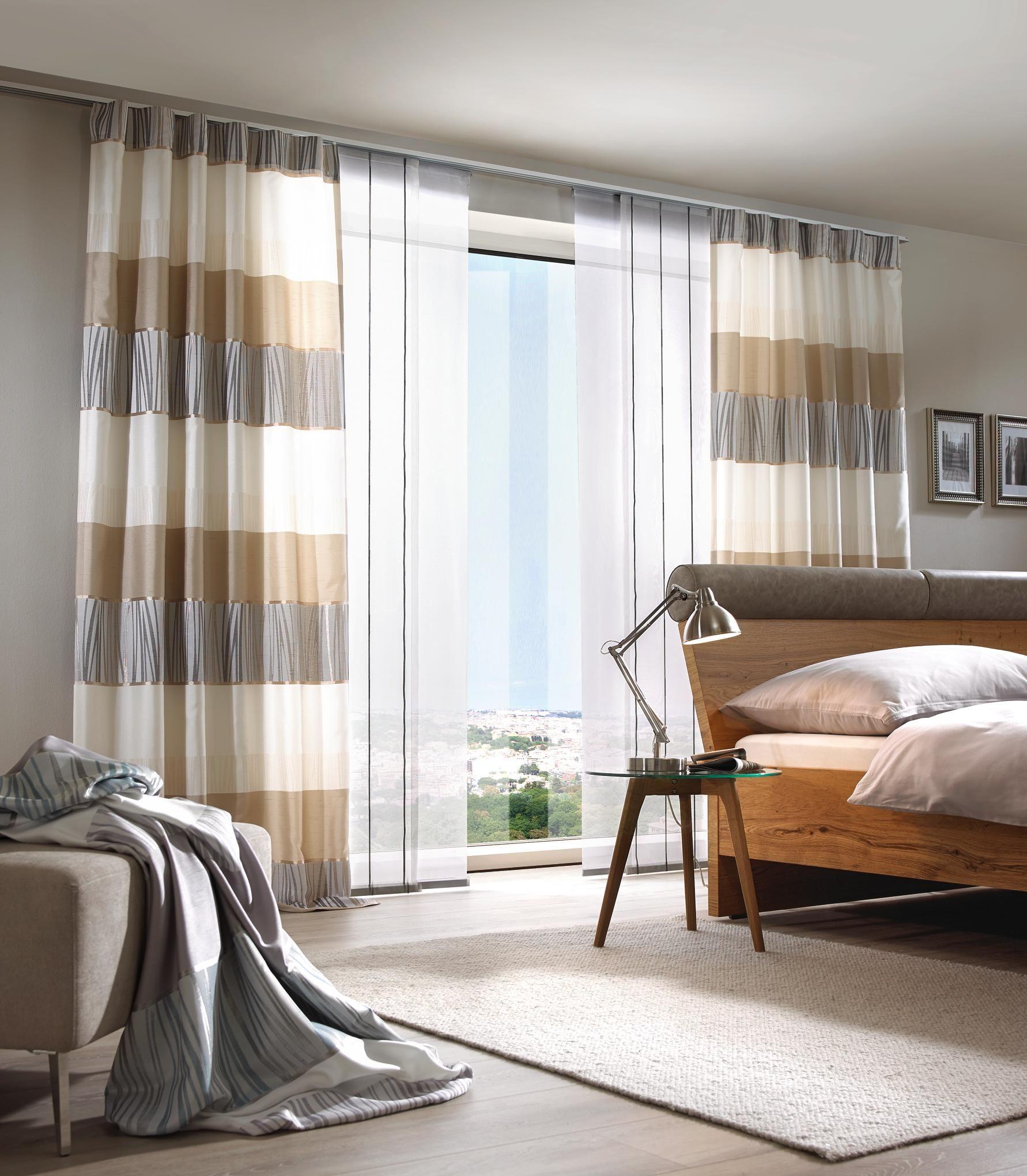 Beige Anthrazit Und Himmelblau Im Wohnzimmer: Gewebter Dekostoff In Anthrazit Und Beige