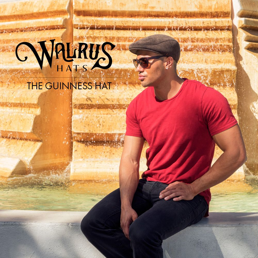 52686177cbed9 The Guinness - Walrus Hats Green Corduroy Ascot Cap in 2019