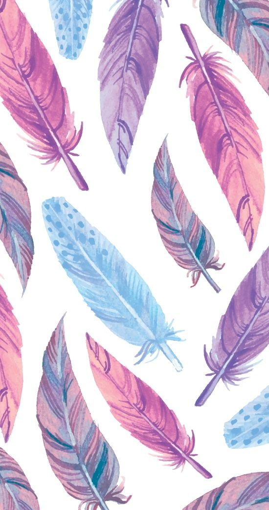 Watercolor Feathers Art Print Feather Wallpaper Tumblr