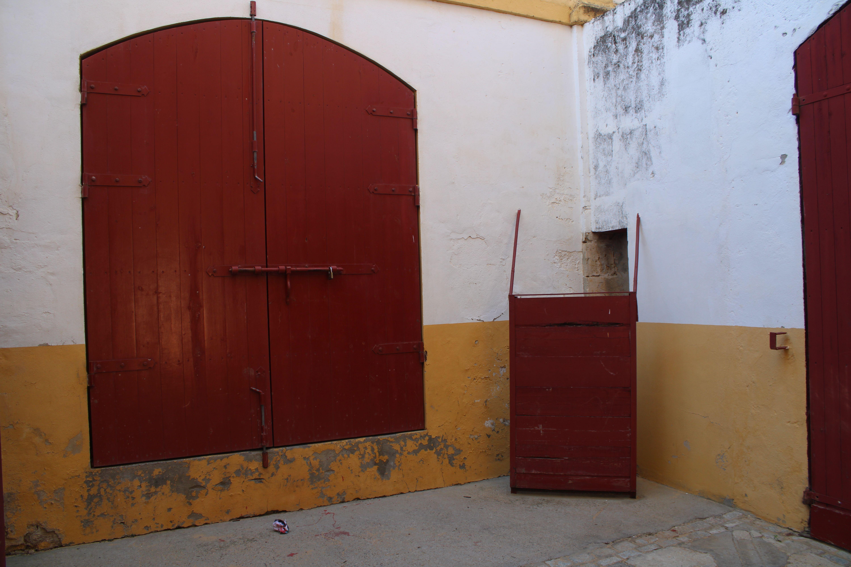 interior de la plaza de toros de El Puerto de Santa María en la provincia de Cádiz.