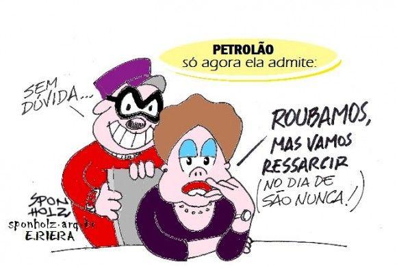 E Viva a Farofa!: Brasil, siga o dinheiro (da campanha de Dilma)