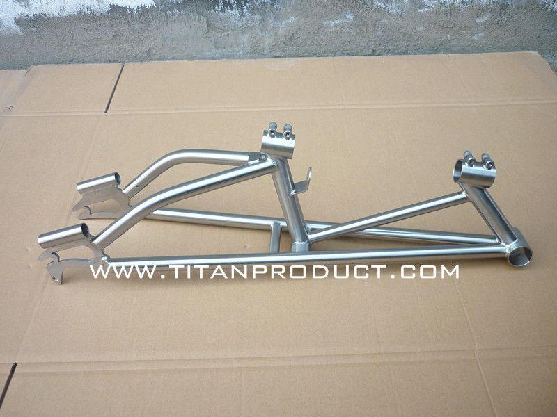 Titanio marco recumbent trike | solo trciclos | Pinterest