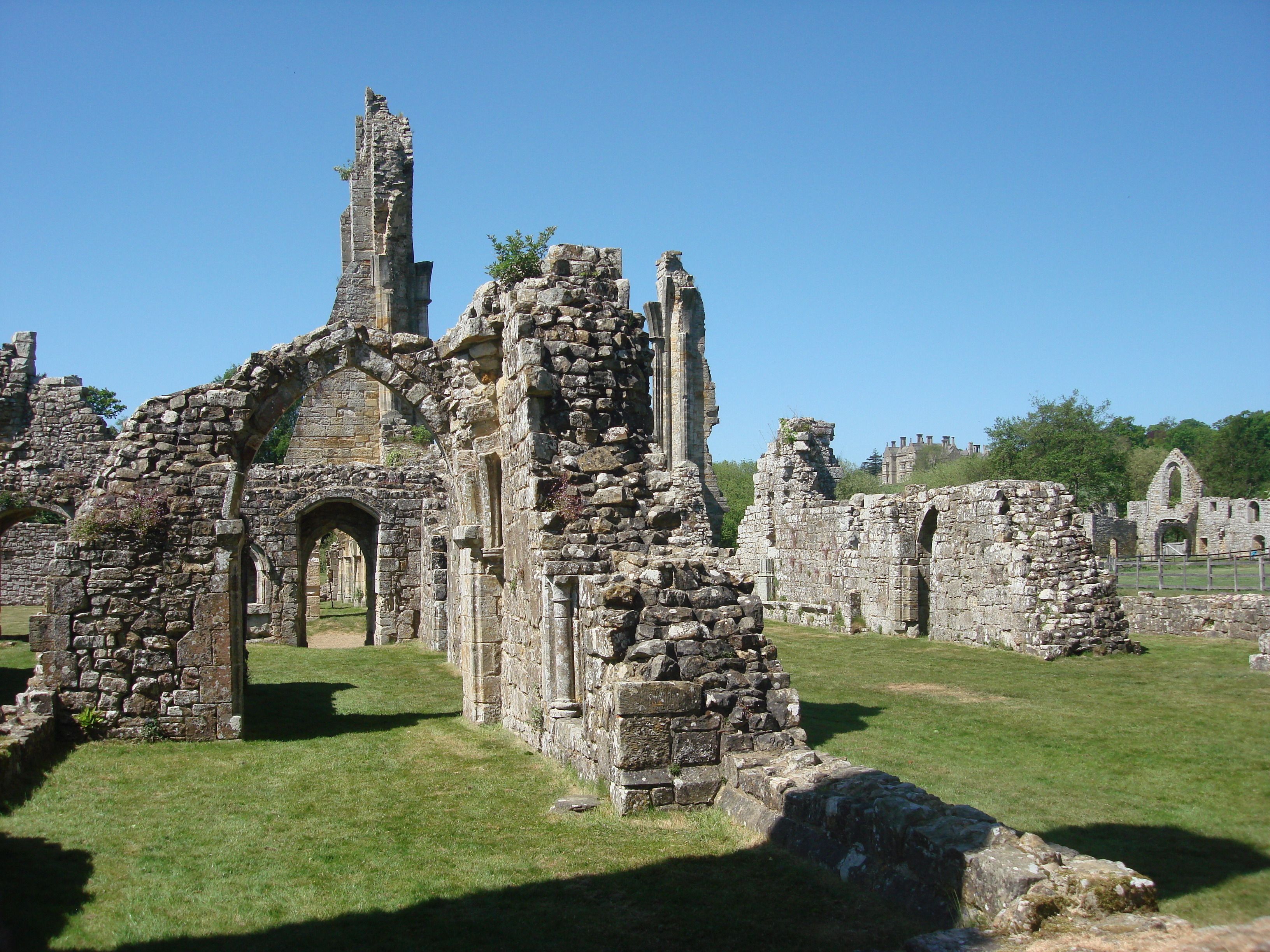 Abbey Ruins in England | Bayham Abbey Ruins - Image Page ...
