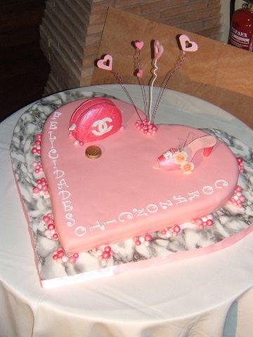 Un corazón rosa enooorme!EDITO:receta SMBC