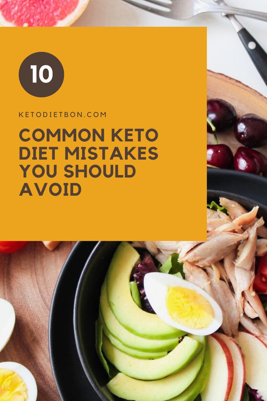 Keto Diet Mistakes in 2020 Keto benefits, Keto, Keto diet