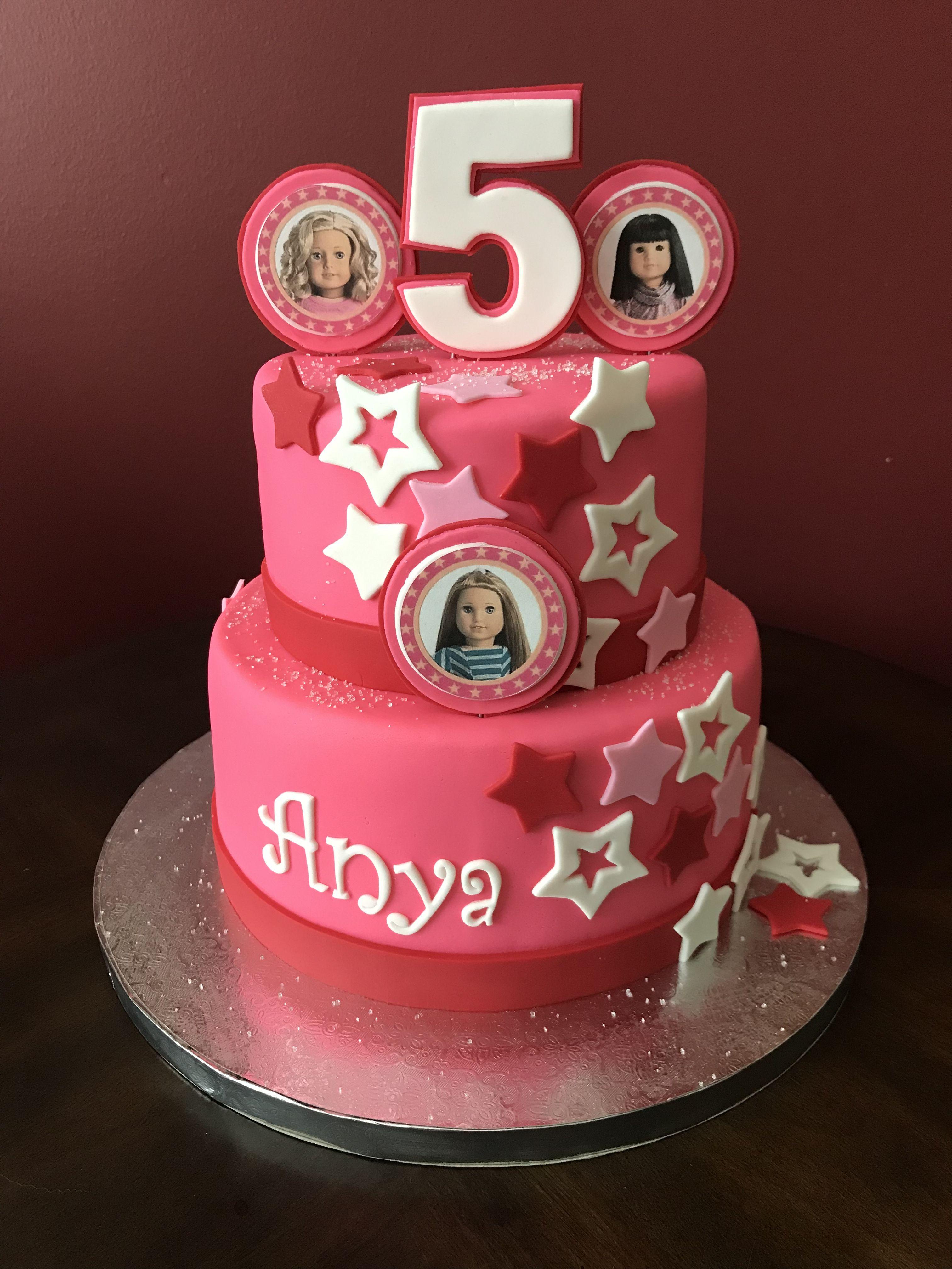 American Girl Doll Birthday Cake American Girl Cakes American