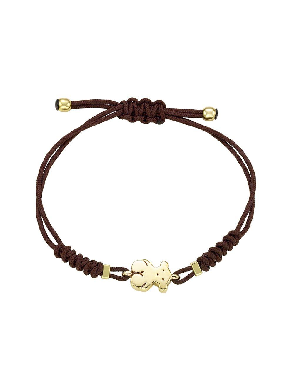 Tous bear gold bracelet women jewellery el corte ingles