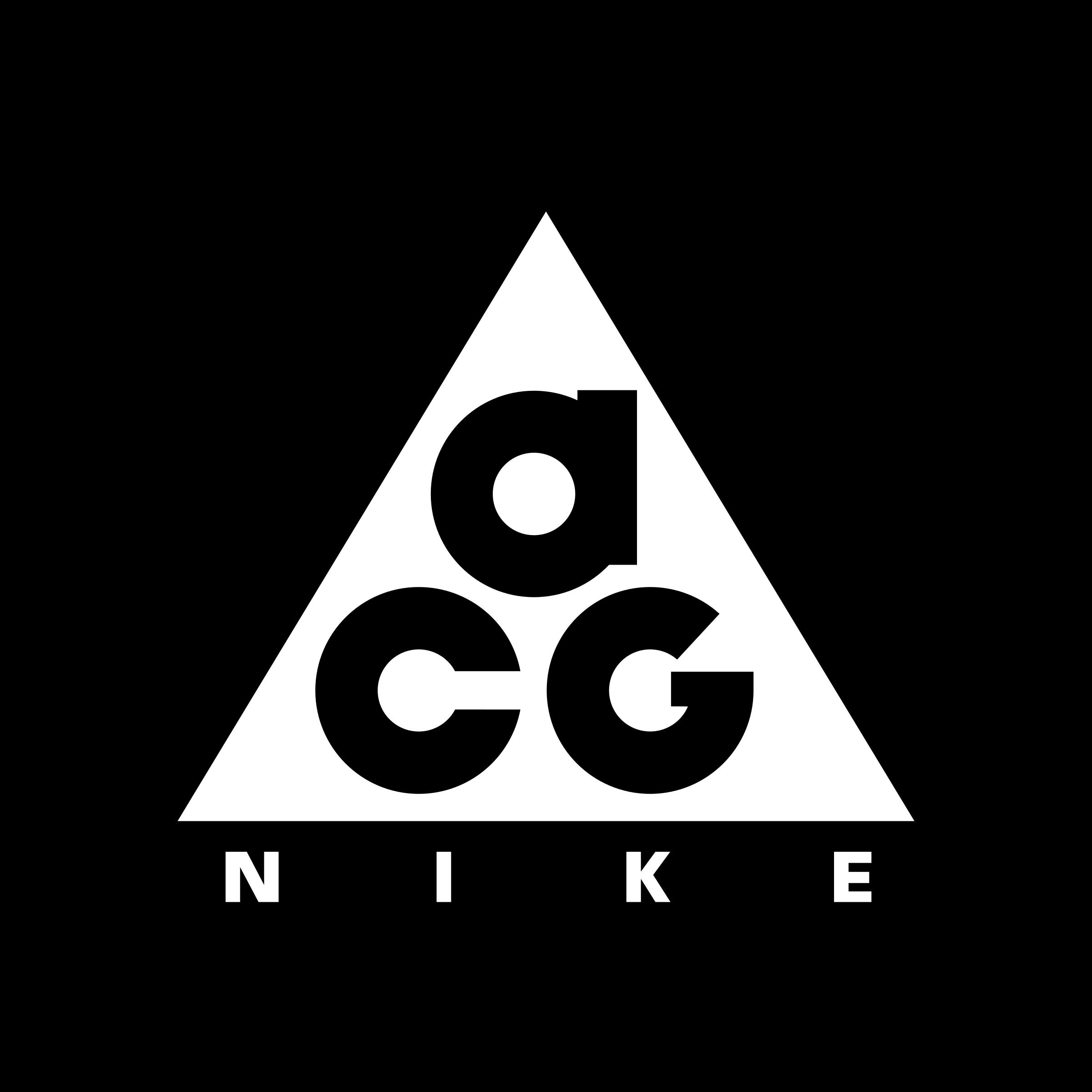 NIKE ACG LOGO Nike acg, Outdoor logos, Minimalist logo