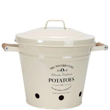 MRS. WINTERBOTTOM\'S Kartoffeleimer   Reibekuchen, Lagern und Gratin