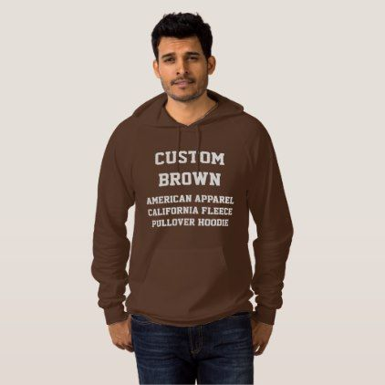 Custom personalized mens brown pullover hoodie cyo create your donald for justin funny hoodie cyo customize design idea do it yourself solutioingenieria Choice Image