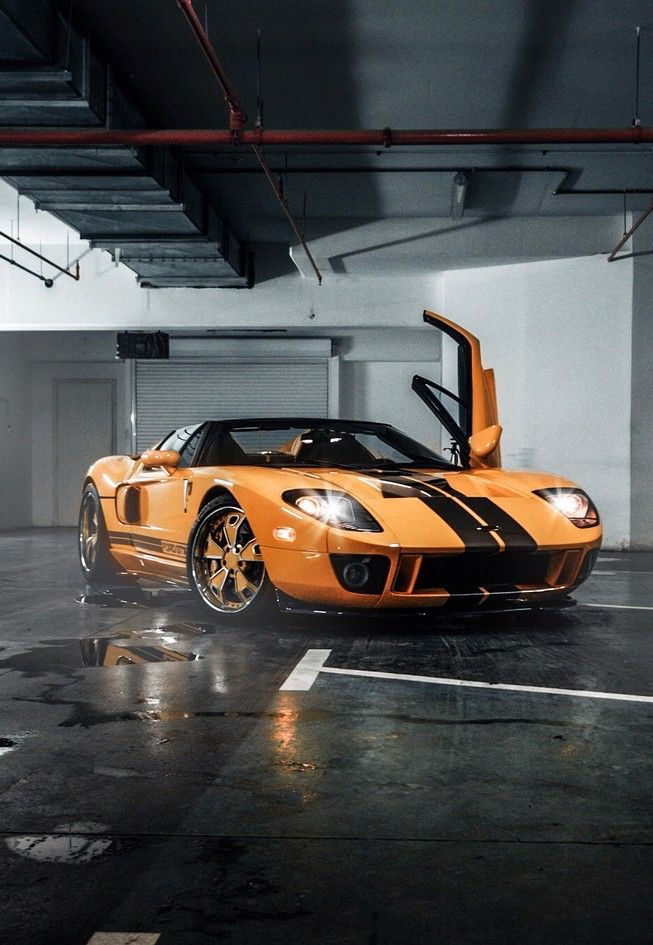 Ford Gt In Orange Love It Cars Trucks That Make My Heart Race Pinterest Ford Gt Ford And Ford Gt