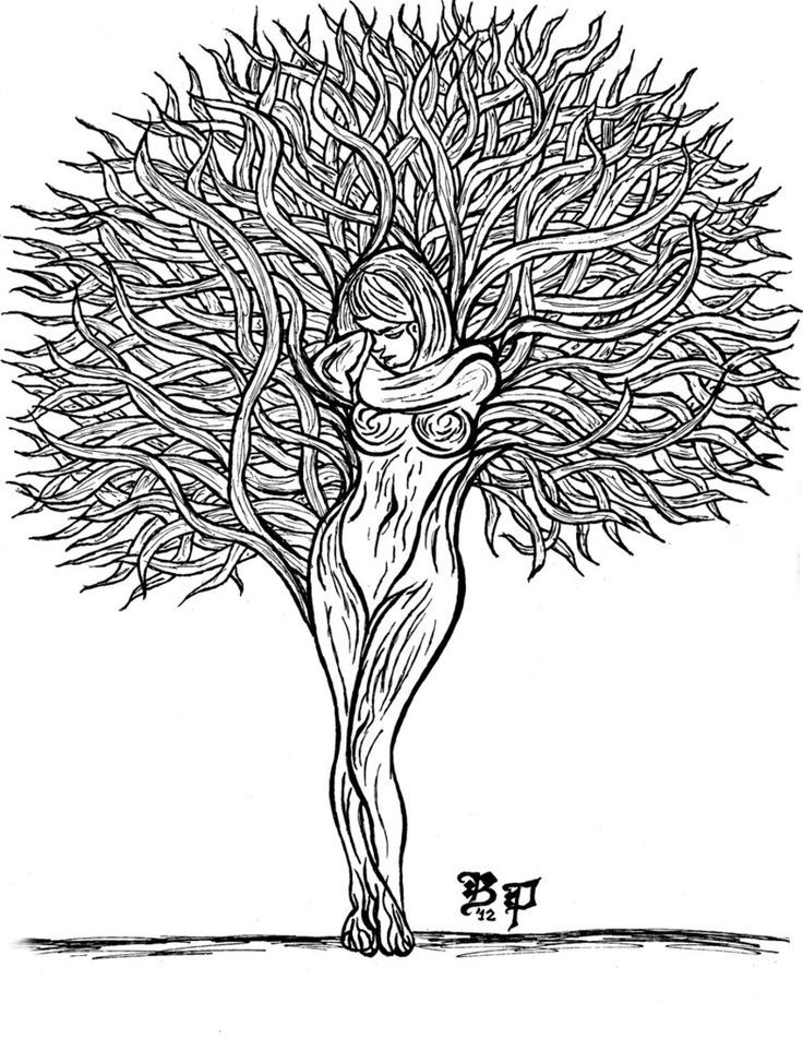 Tree Lady by daevilmagiciano on DeviantArt Tree of life