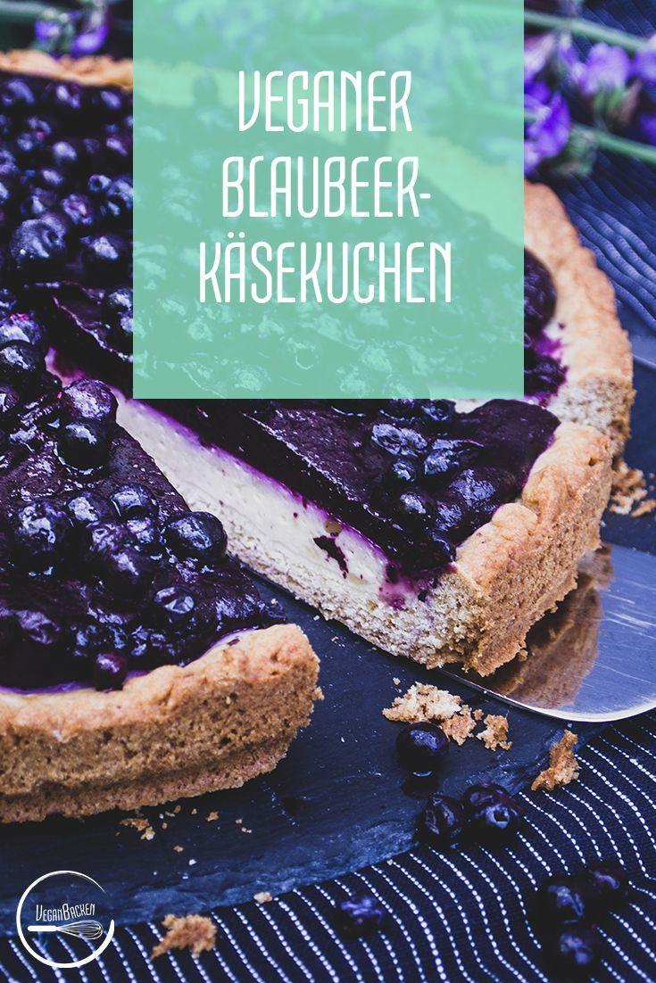 Veganer Blaubeer Käsekuchen: Farbenfrohes Geschmacksspektakel