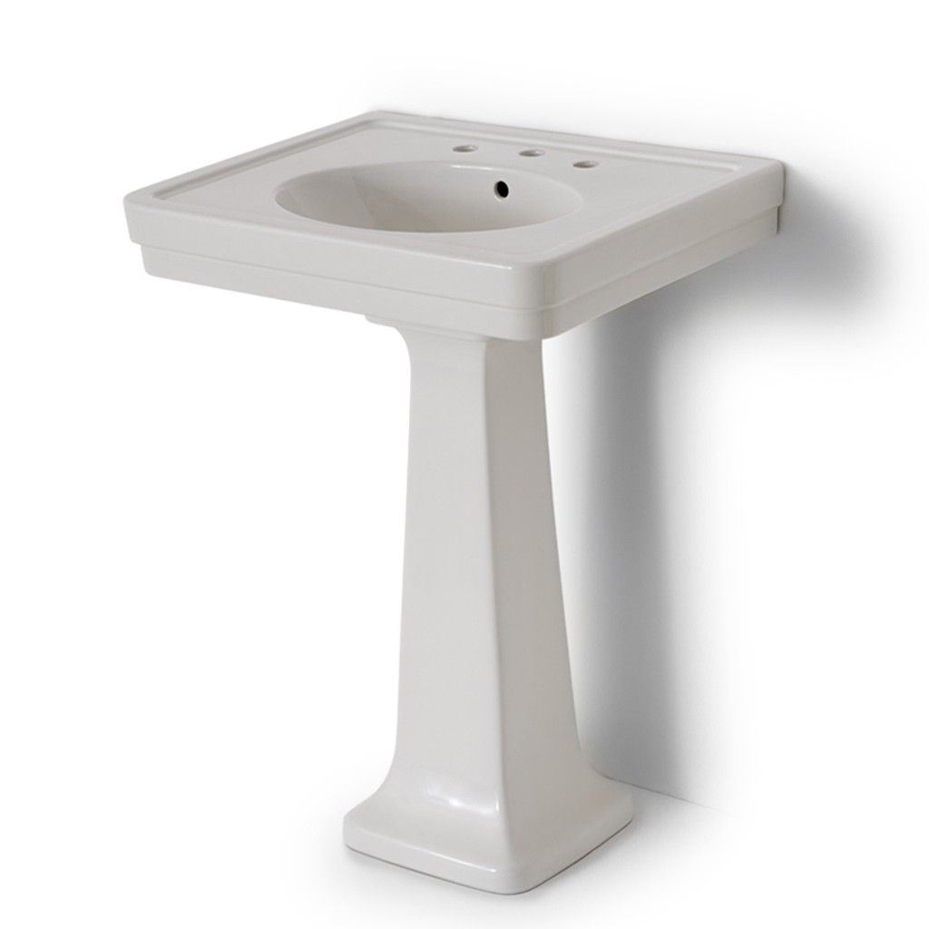 Alden Pedestal Sink Bath Furniture Fixtures Bathroom Fixtures Waterworks