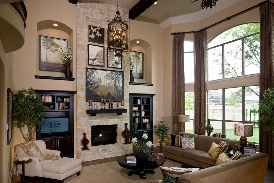 Toll Brothers Bellwynn Family Living Room