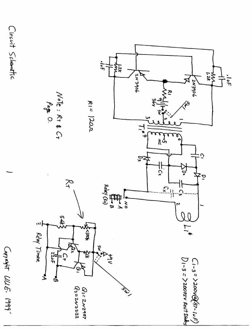 The free information society mini emp electronic circuit schematic rh pinterest emp generator plans handheld emp generator