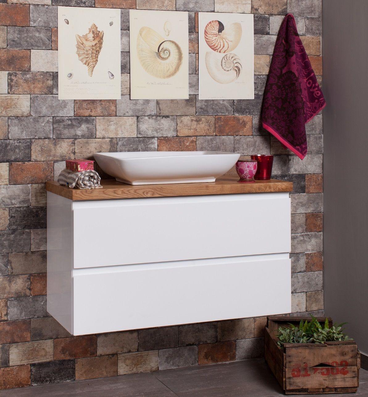 ארון אמבט מסדרת נובל דגם זוהר עם פלטת בוצ ר בלוק Bathroom Sink