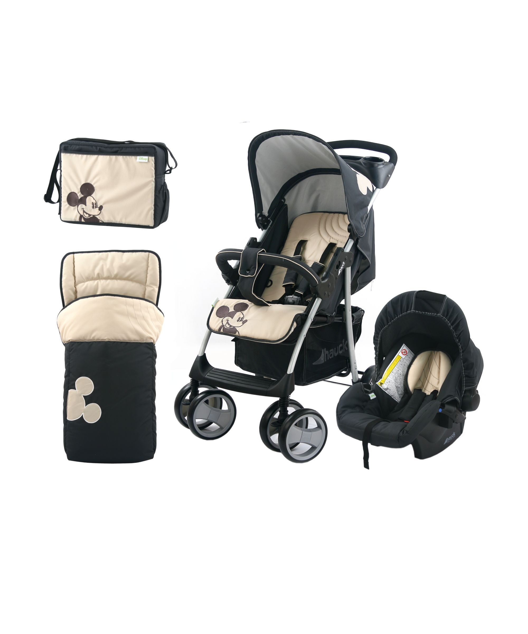 Hauck Disney Baby Shopper Shop \'n Drive Travel System - Classic ...