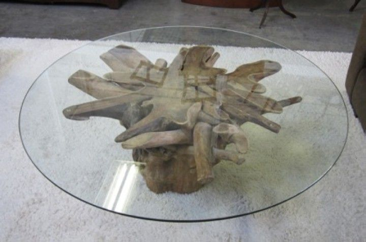 Need To Find A Tree Stump Base For My Glass Table Top