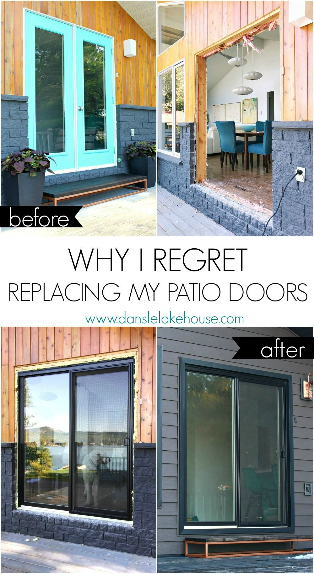 Why I Regret Replacing My Garden Doors For Sliding Glass Patio Doors I Made A Lot Of Mistakes Sliding Glass Doors Patio Glass Doors Patio Sliding Patio Doors