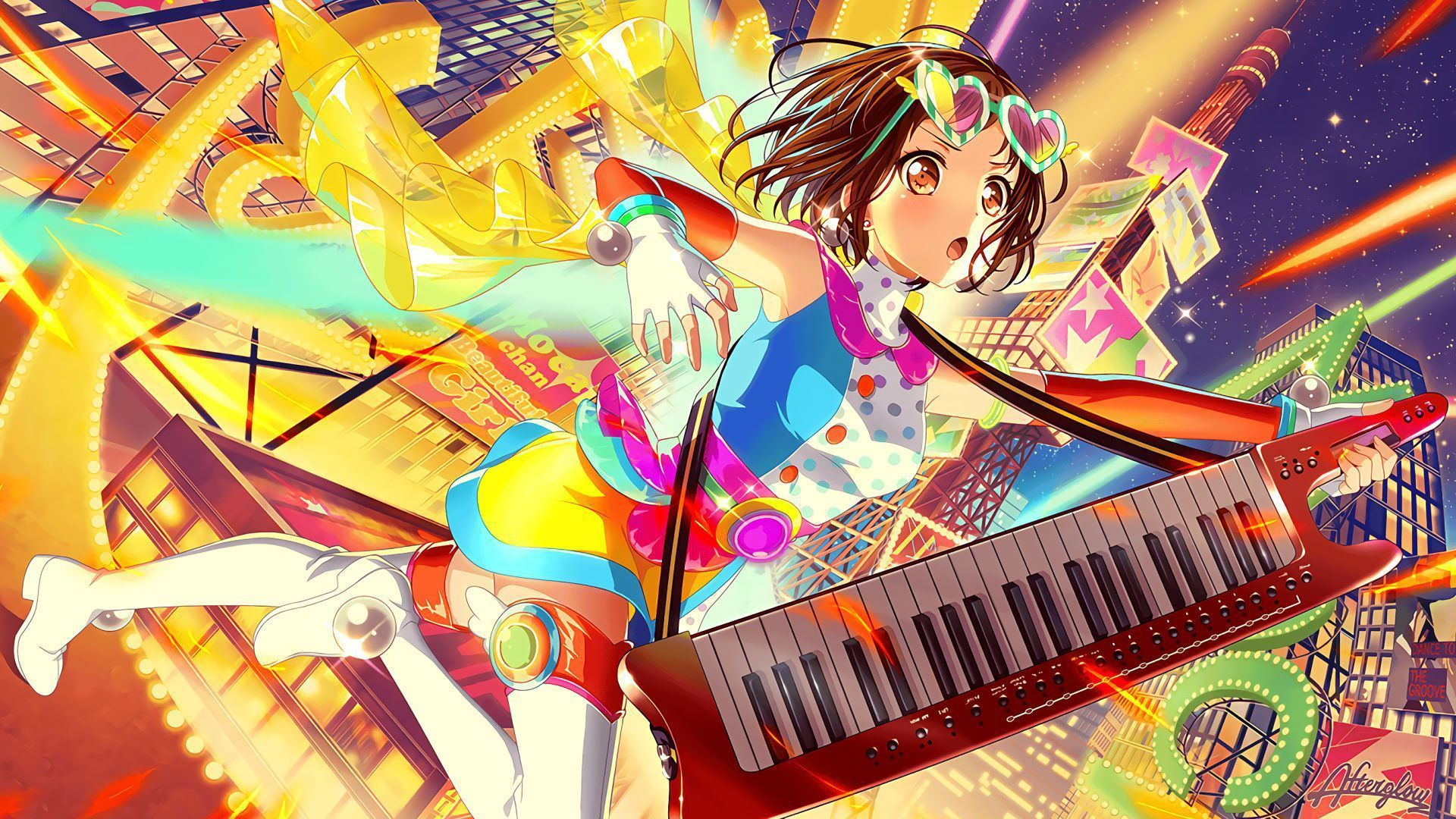 Pin by AnimeMelody on バンドリ Anime, Anime music, Girl bands