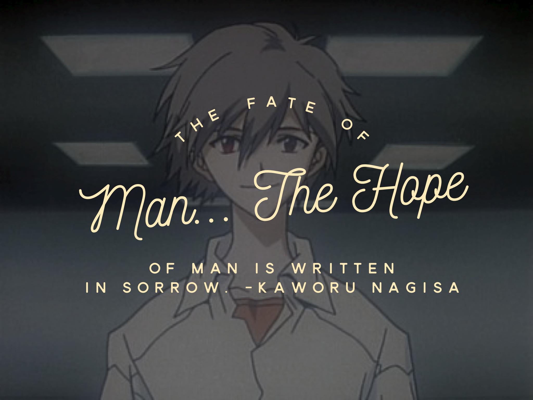Kaworu Nagisa Neon Genesis Evangelion Cartoon Quote