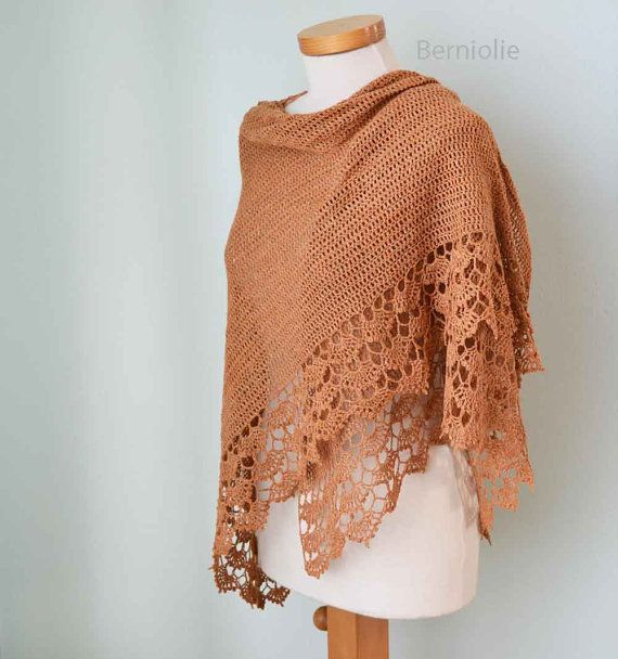 SPRING, Crochet shawl pattern pdf | Pinterest | Chal, Primavera y ...
