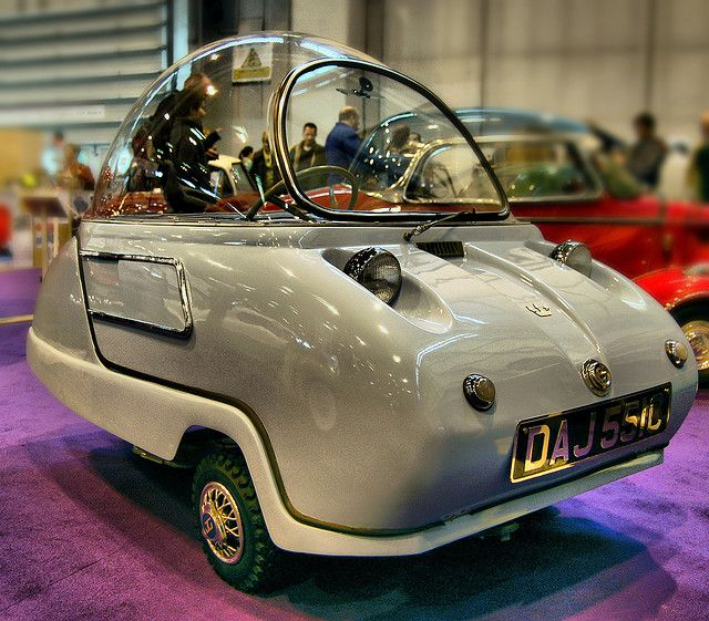 Peel Trident. Space age Bubblecar by Lazenby43, via Flickr