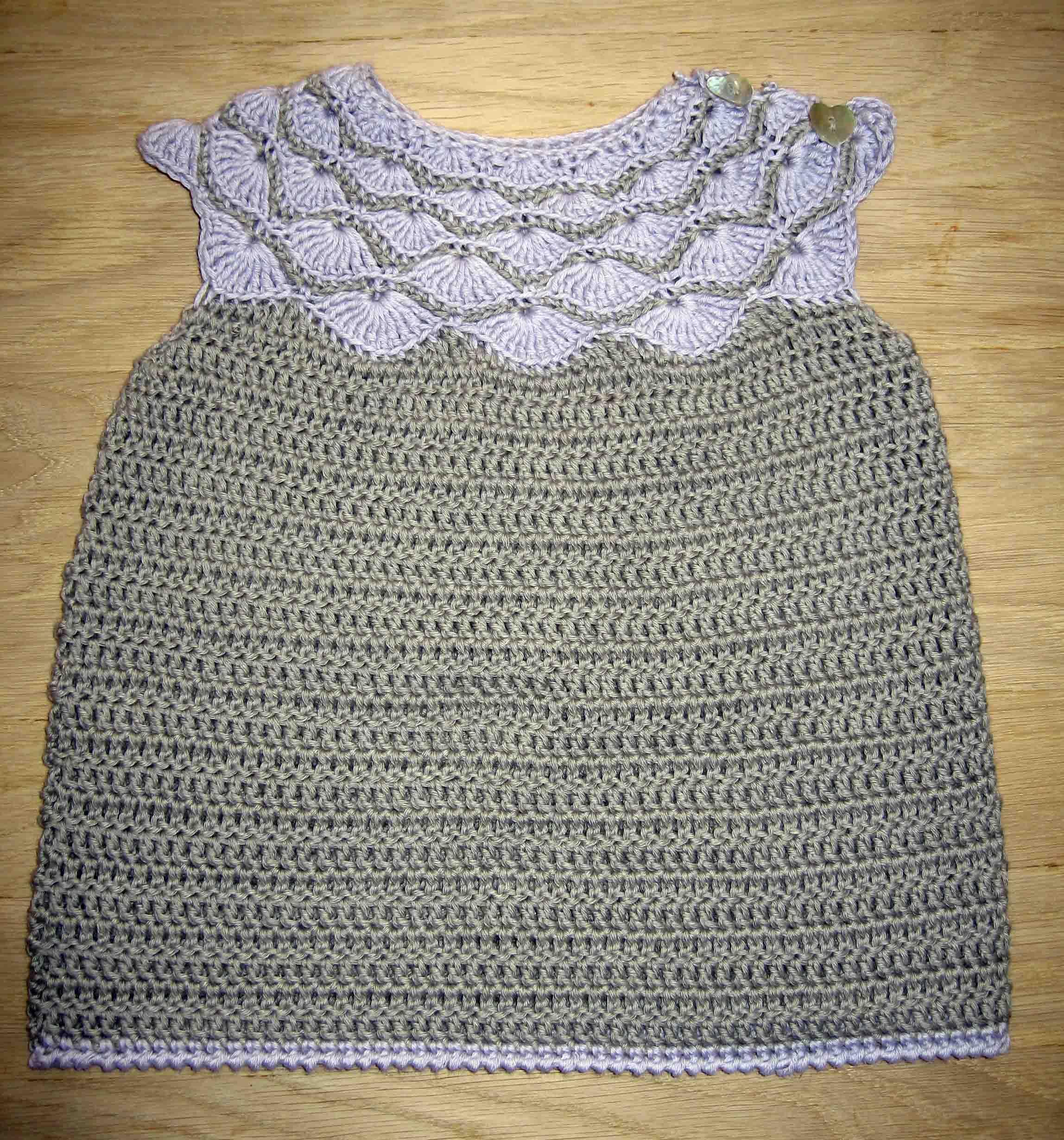 Hæklet kjole | På krogen
