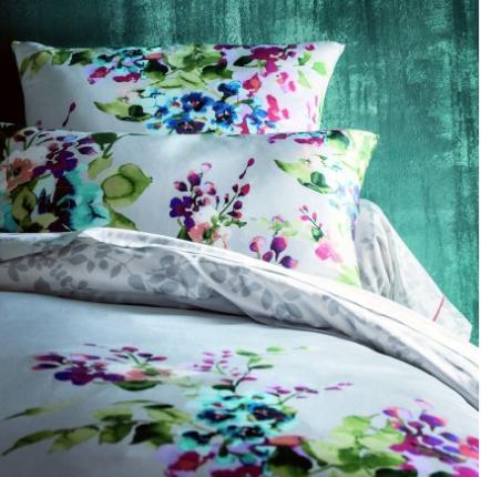Hiver Multicolor Sheet Set, Anne De Solene Bedding Australia