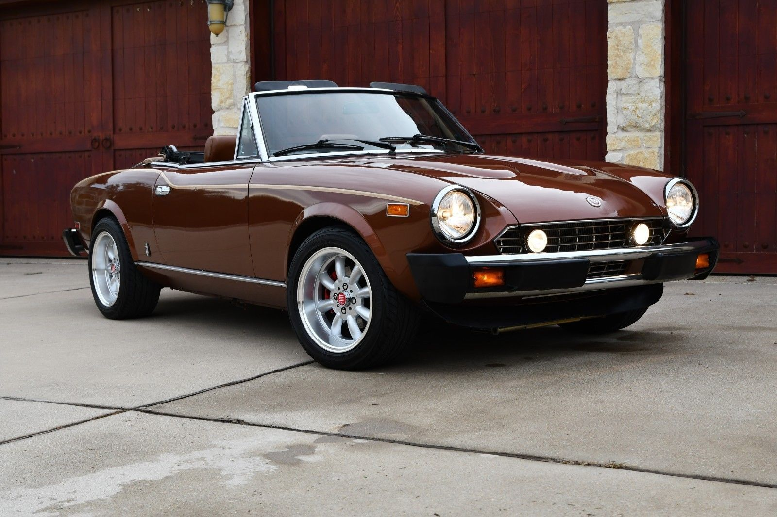 hight resolution of 1982 fiat 124 spider spider 2000 performance custom ebay