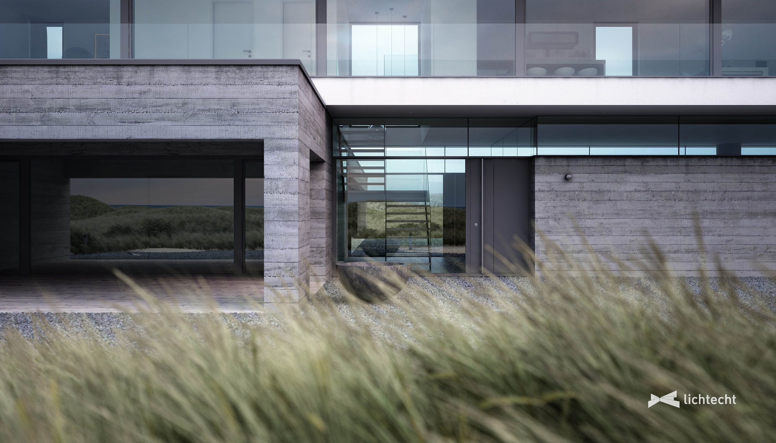 The Dune House On The Danish North Sea Coast Viza