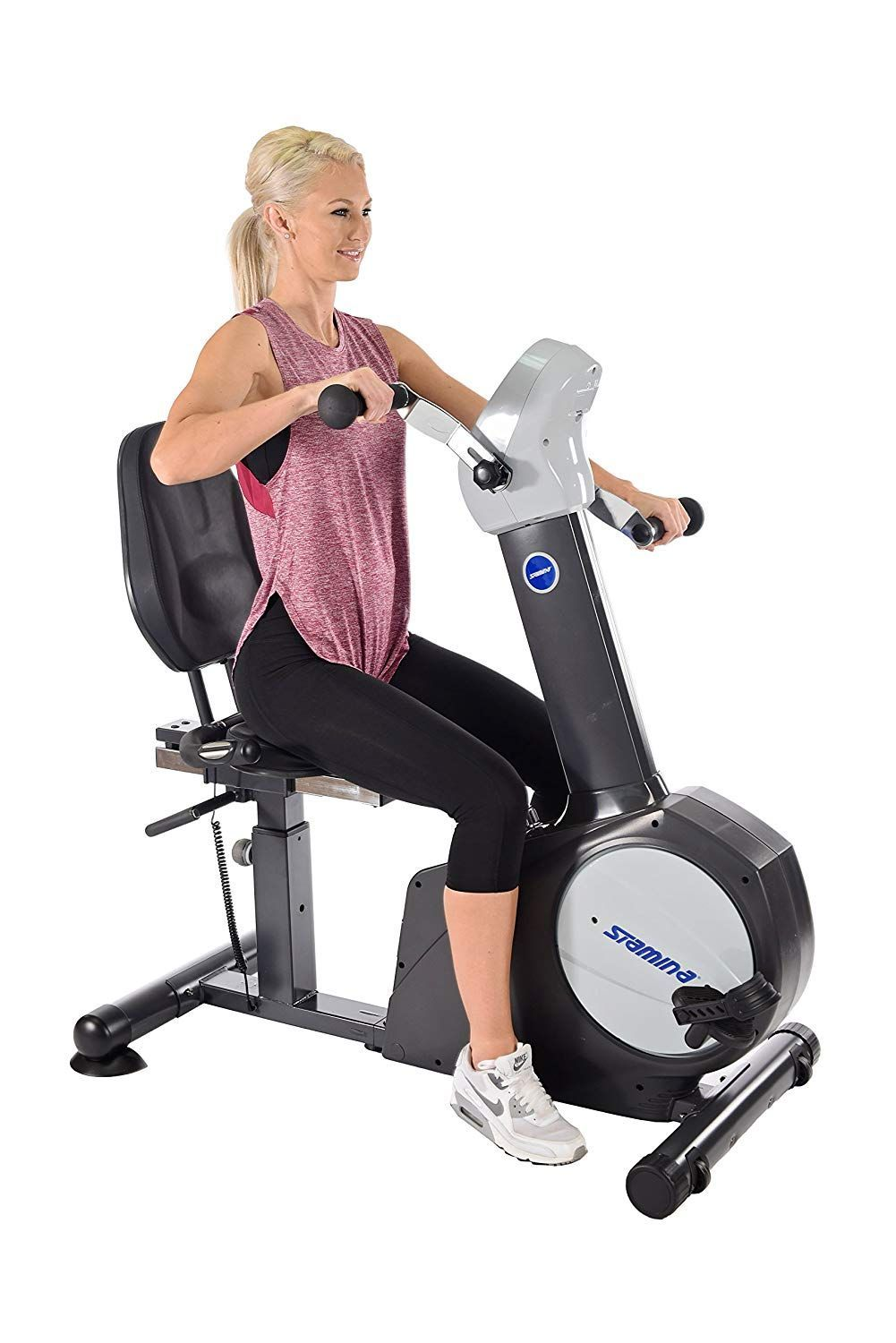 Maxi Climber R The Initial Proprietary Vertical Climber As Seen On Tv Full Body Biking Workout Recumbent Bike Workout Best Exercise Bike