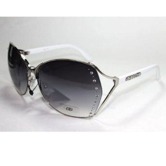 8e74040ec8 DG191 S5 DG Eyewear Gorgeous and Elegant Rhinestones Accents Women s  Sunglasses with Protective Soft Pouch DG
