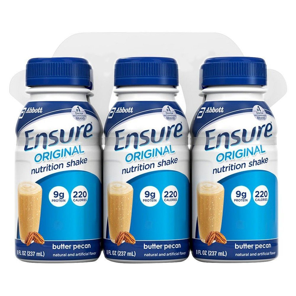 Ensure Butter Pecan Nutrition Shake - 6 Count (8 oz each)