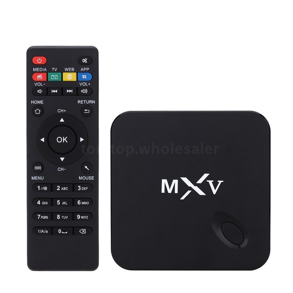 mxv quad core android 4 4 smart tv box xbmc kodi fully loaded 8gb 1080p wifi us
