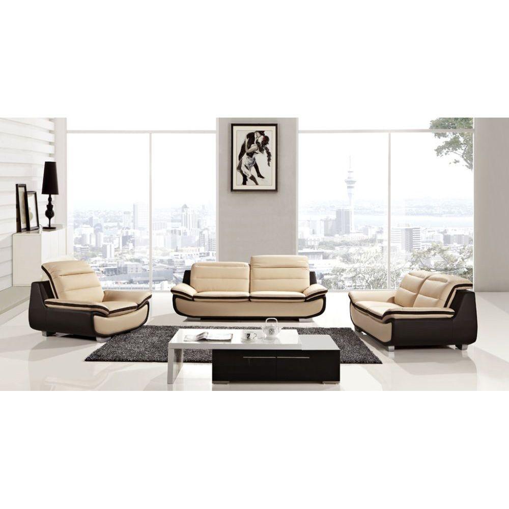 brown+and+peach+furniture   Pieces Peach Dark Chocolate Bonded ...