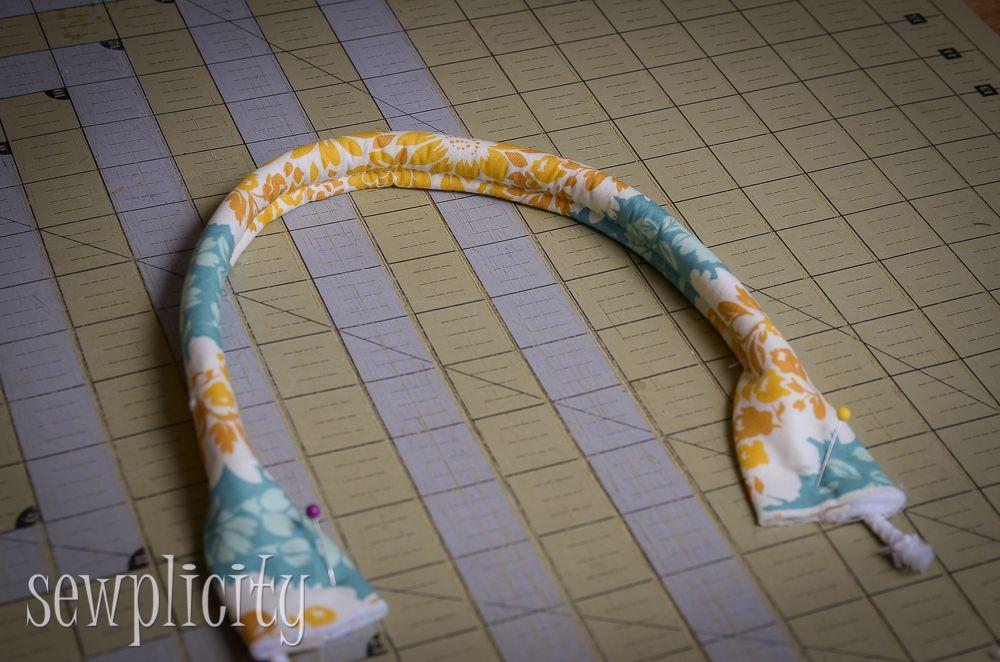 TUTORIAL: filo tessuto Maniglie - Sewplicity