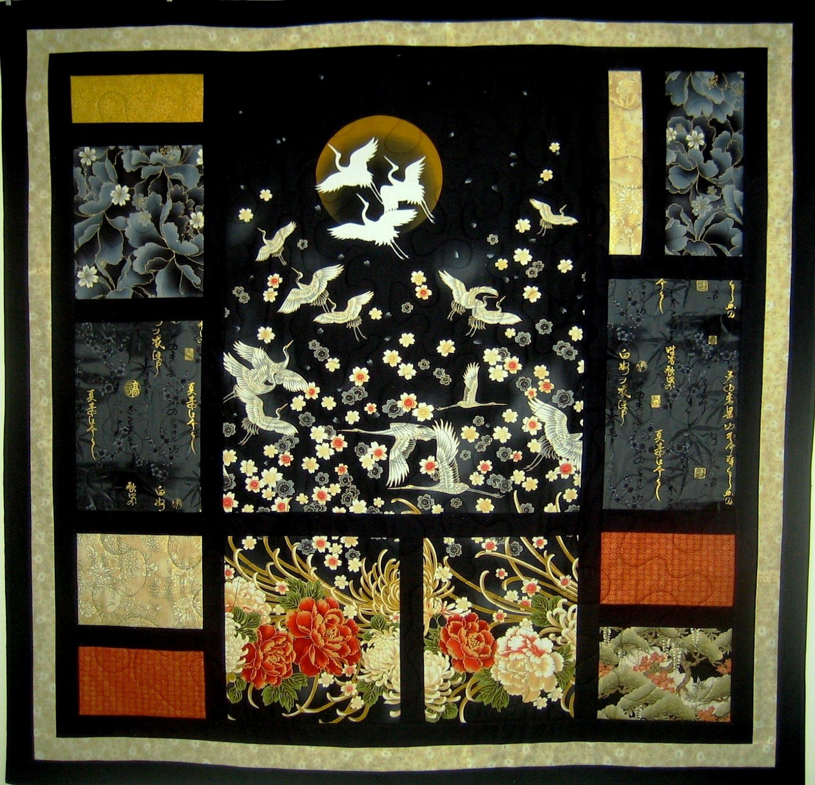 Asian Quilt Block Patterns Free Oriental Delight