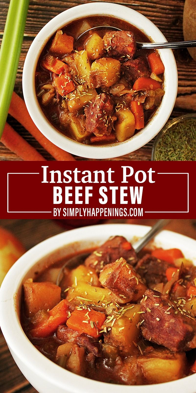 Easiest Instant Pot Beef Stew Simply Happenings Recipe In 2020 Instant Pot Beef Pot Beef Stew Potted Beef