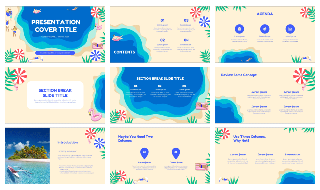 Summer Vibes Free Google Slides Themes And Powerpoint Templates Powerpoint Templates Powerpoint Design Templates Powerpoint Presentation Design