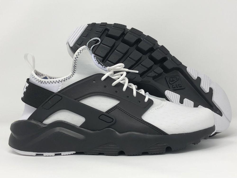 4be1849fe693 Nike air huarache run ultra se white black-black size men s 9  nike ...