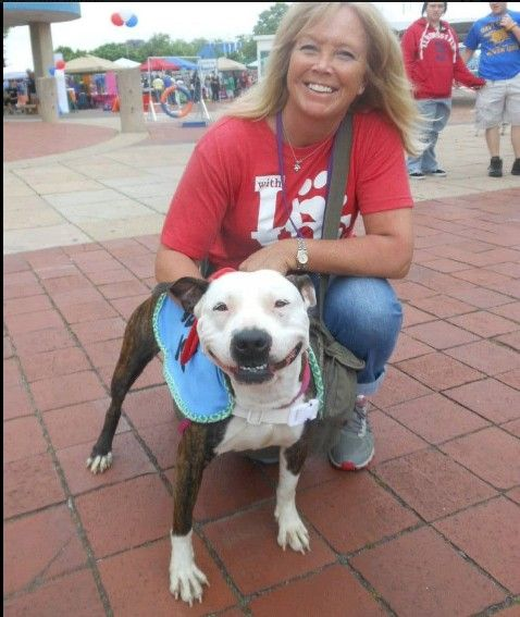 Just adopted... whose smile is bigger?  PIT BULL!  We have a winner!!