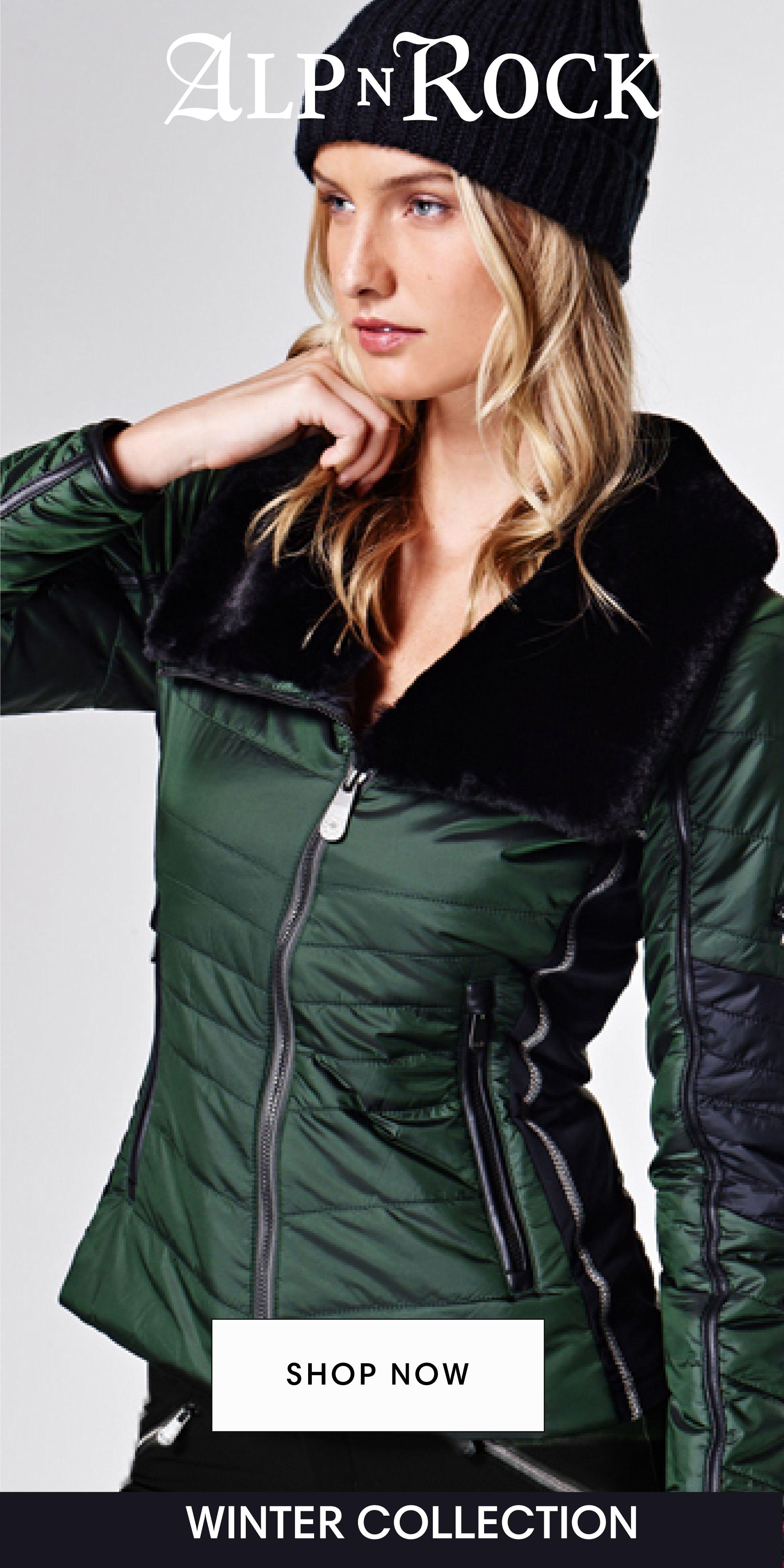 Shop Warm Chic Jackets At Alp N Rock Outerwear Women Winter Outerwear Women Fashion [ 5001 x 2501 Pixel ]